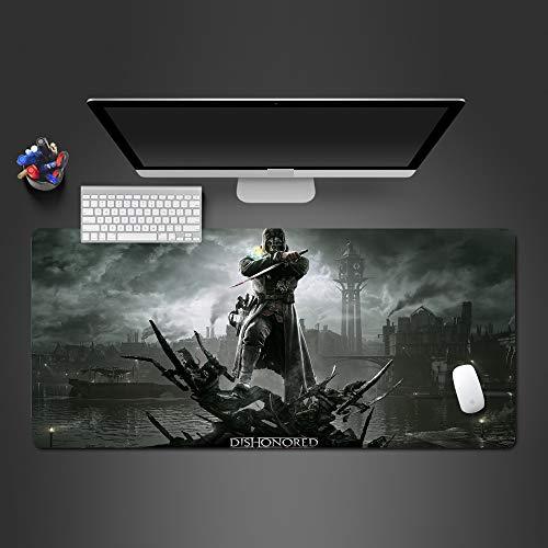 Individualismus Kampf Laptop Tastatur Mauspad Natürliche Persönlichkeit Einzigartiger Stil Desktop Pad Mauspad von Computer und Büro 300x400x2mm