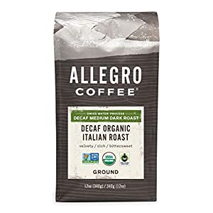 Allegro Coffee Decaf Italian Roast, 12 oz