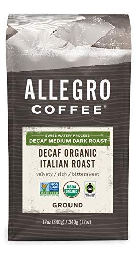 Allegro Coffee Decaf Italian Roast, 12 oz