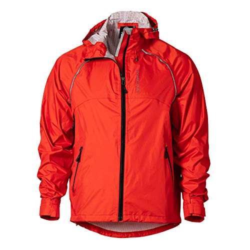 Showers Pass Waterproof Breathable Syncline CC Mens Jacket (Firecracker - Large) Red