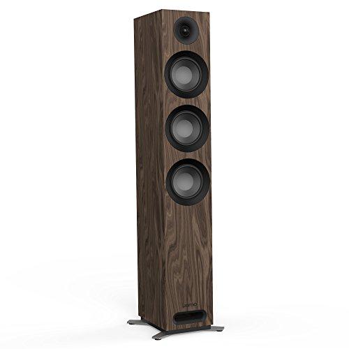 Jamo S 809 240W Walnuss - Lautsprecher (Verkabelt, 240 W, 37-26000 Hz, 8 Ohm, Walnuss)