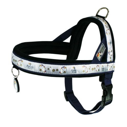 EQuest Pummeleinhorn Hundegeschirr - Light Fashion 2 (Marine) Größe XL