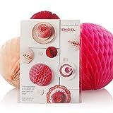 Sweet-gran colorido panales de miel-Set de 3(10, 15y 20cm), color rojo/naranja/rosa-Engelpunt/una parte de la vida