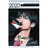 防弾少年団 BTS V テテ グッズ【卓上 カレンダー (写真集 カレンダー) 2020~2021年(2年分) 】 + フォトデスクカレンダー + ステッカーセット