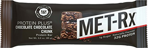 METRx Protein Plus Bar Healthy Meal Replacement Snack and Help Support Energy Gluten Free Chocolate Chocolate Chunk With Vitamin A Vitamin C and Zinc to Support Immune Health 85 g 9 Count