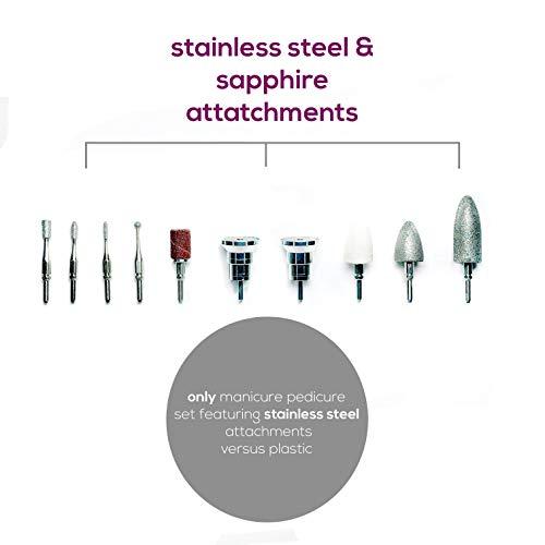 ongles électrique pour manucure et pédicure USB Kit de manucure pour ongles acryliques, ongles en...