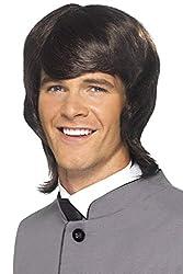 60's Men Mod Wig in Black