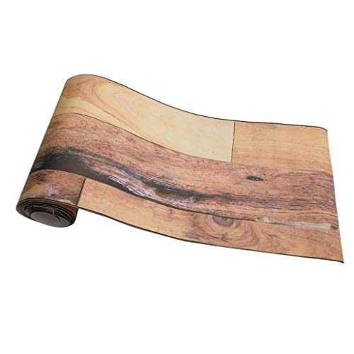Mosaik Holzoptik Fliesenaufkleber Fliesenfolie Fliesensticker Küche Badezimmer - 8