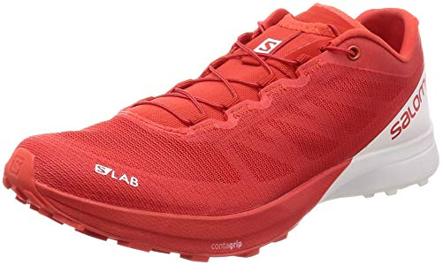 SALOMON S-Lab Sense 7 Racing Red White White 46.5