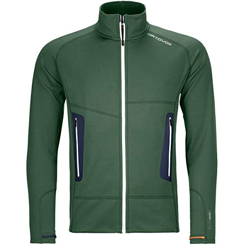 ORTOVOX Herren Fleece Light Jacke, Green Forest, M