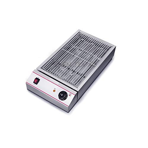 SKREOJF Hogar sin Humo Barbacoa eléctrica de la máquina Parrilla eléctrica Sana Libre de Humo Placa de Hierro Calefacción