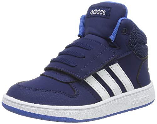 adidas Jungen Hoops MID 2.0 I Fitnessschuhe, Mehrfarbig (Multicolor 000), 26 EU