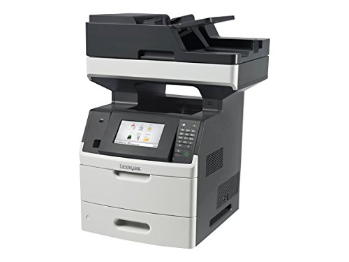 Lowest Prices! Lexmark MX710DE Monochrome Printer with Scanner, Copier and Fax - 24T7401 (Renewed)