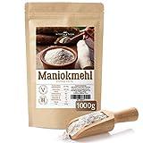 Maniokmehl | 1kg feines Cassava Mehl zum Backen | kontrollierte Qualität, 100% frei von Gentechnik | glutenfreies Mehl, perfekt für Paleo geeignet | Premiumqualität