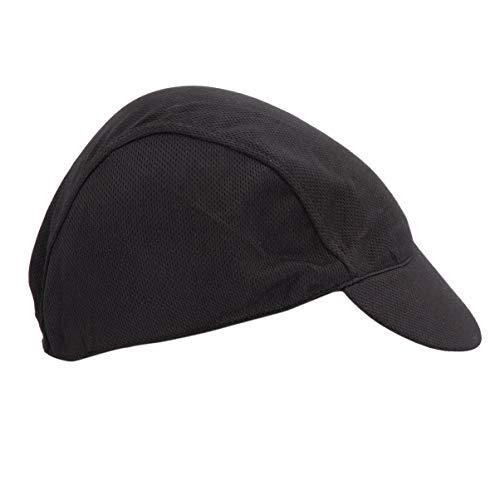 GARNECK Berretto da Ciclismo Bici Cranio Cappellini da Sole Traspiranti Cappello da Equitazione Sport Esterno Casco per Uomo (Nero)