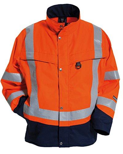 Tranemo 4835-44-93-L Jacke CE-ME mit Futter Größe L in orange/marine blau, L