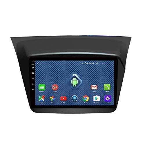 Navegación GPS estéreo para Coche Android 2 DIN, con cámara Trasera Compatible con WiFi Bluetooth/Mirror Link/Dab + / OBD2 / FM/Am/SWC/USB, para Mitsubishi Pajero Montero Sport 2013-2018