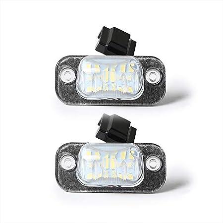 Led Kennzeichenbeleuchtung Kennzeichenleuchte Kompatibel Mit Golf 3 Polo 6n Ibiza Cordoba Auto