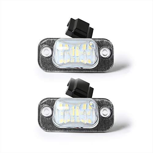 Kfz Dog - LED Kennzeichenbeleuchtung | kompatibel mit Golf 3, Ibiza Cordoba | qualitativ hochwertige LED Nummernschildbeleuchtung