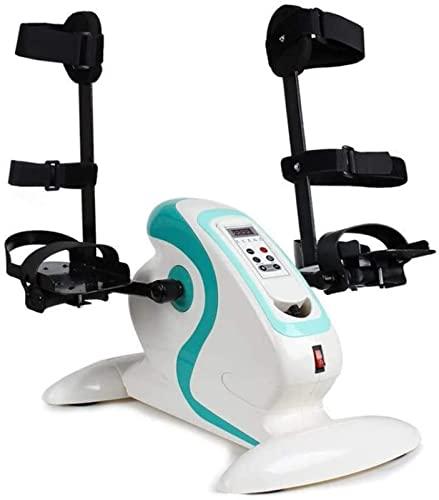 Bicicleta de Ejercicio Eléctrica, Pedal de Fitness Controlado Electromagnéticamente para Rehabilitación de Personas Mayores, Bicicleta Estática para Brazos y Piernas, Unisex