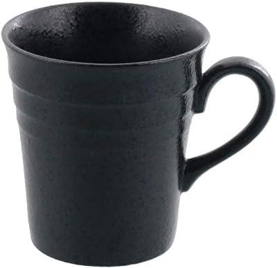 テーブルウェアイースト トール コーヒーカップ ボーダー 8.1cm 黒耀 マグカップ コップ カフェ食器