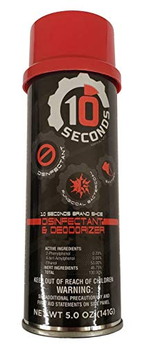 10 Seconds Shoe Disinfectant and Deodorizer, 5 Ounces