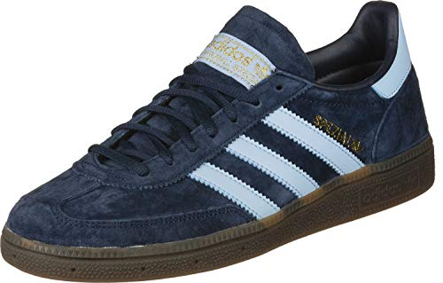 adidas Originals Mens Handball Spezial Sneaker, Collegiate Navy/Clear Sky/Gum,38 EU