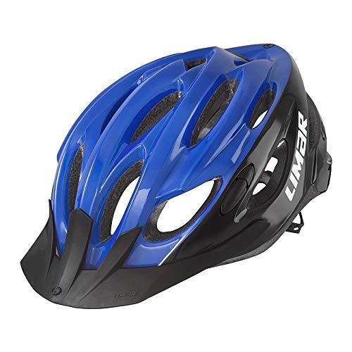 Limar Fahrradhelm Scrambler Gr.M 52-57cm blau schwarz ca. 255g Fahrrad