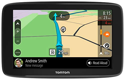 Car GPS Navigation TomTom Go Comfort 6 with Wifi, 6 inch Display, Lifetime Traffic and Maps, Smart Routing, Destination Prediction and Road Trips