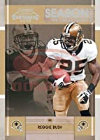 2008 Playoff Contenders Season Tickets Football Card # 62 Reggie Bush - New Orleans Saints - NFL Trading Card