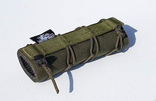 """Rifles Only MAD 8.5"""" Suppressor Cover (OD Green)"""