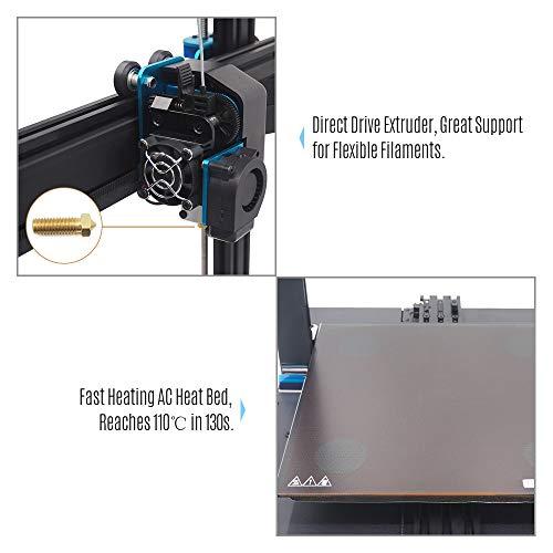 Leslaur Artillery SWX1 - Impresora 3D de alta precisión, kit de ...