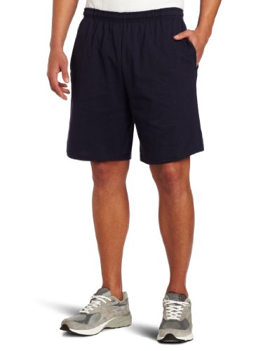 Soffe Men's Classic Cotton Pocket Short Navy XXL