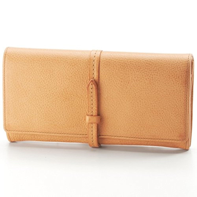 ゲンテン(genten) トスカ ベルト付きフラップ長財布