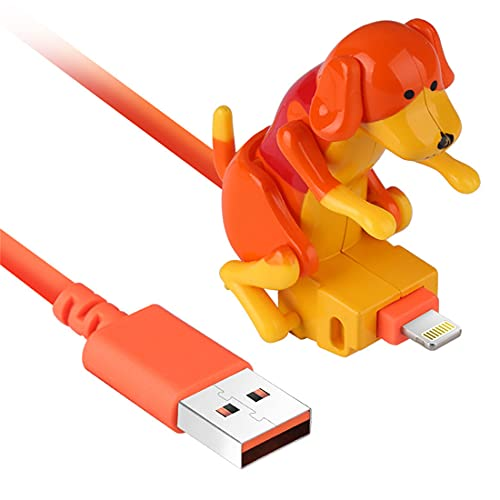 Funny Humping Dog Fast Charger Cable Stray Dog Charging Cable Suitable Smartphone...