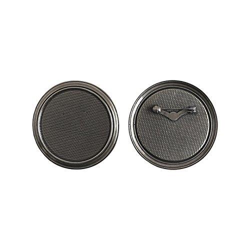 5 pcs taille de la table de broche 5,5 cm de diamètre noir nickel