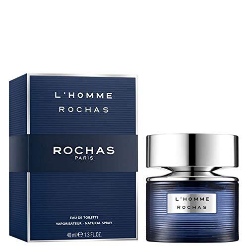 Rochas S0583702 Perfume para Hombre, L'Homme, Agua de Tocador, 40 ml
