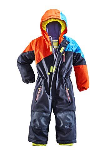 Killtec Kinder Kesley Mini Skioverall/Schneeanzug Mit Kapuze, 10.000 Mm Wassersäule, Wasserdicht, dunkelnavy, 110/116