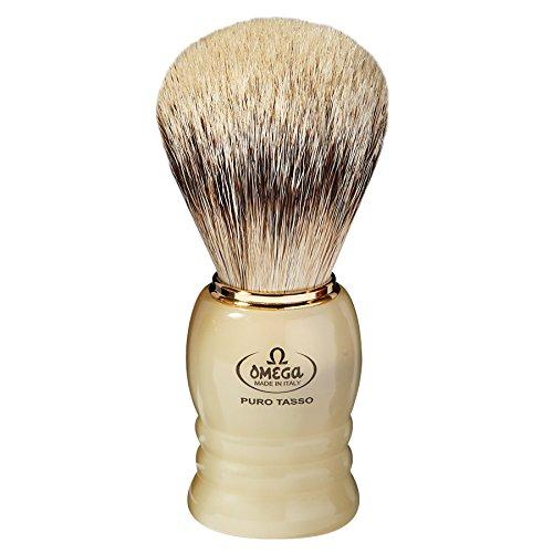 Omega 620 - 100% Silvertip Badger Shaving Brush