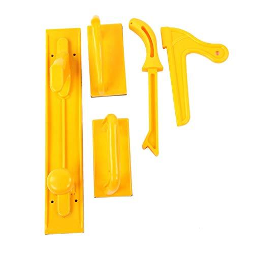 Safety Push Block und Stick Push, Chacerls Holzbearbeitung Router Tischwerkzeuge 5-tlg. Safety Push Block und Stick Package