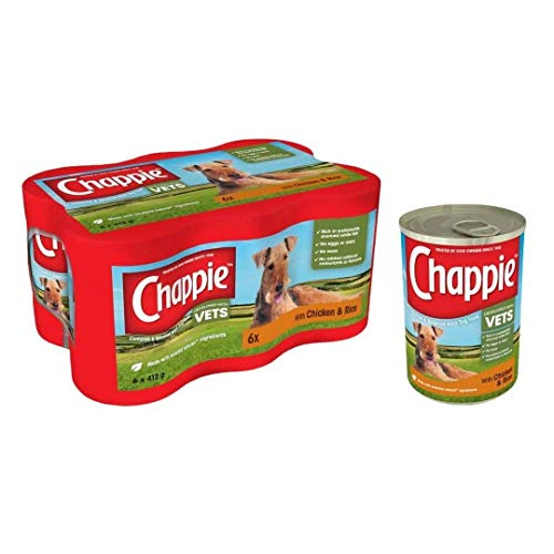 Chappie Dog Tins Original Chicken & Rice6 x 412g