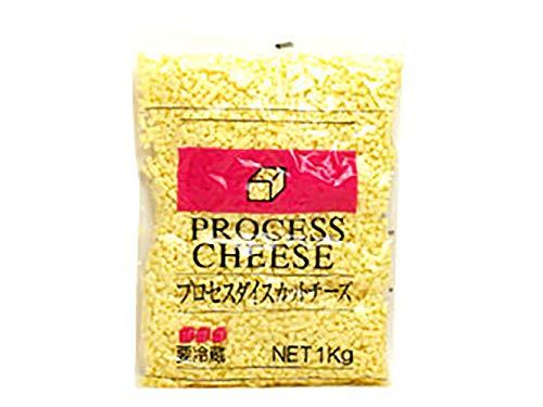 【 業務用 】 マリンフード プロセスダイスチーズ 5mmカット 1kg プロセスチーズ キューブ ダイス