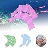 Panamami - Pinne da nuoto antiscivolo comode e antiscivolo, taglia M, colore: Blu