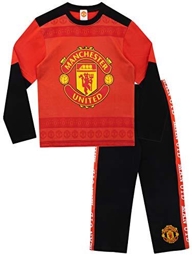 Manchester United - Pijama para Niños 9-10 Años