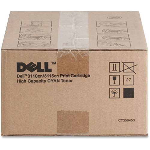 Original Dell 3110cn High Capacity Toner Kit, ca. 8.000 Seiten, cyan