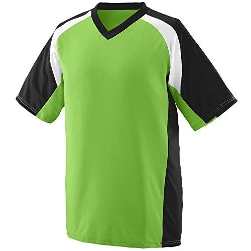 Augusta Sportswear Men's Nitro Jersey L Lime/Black/White