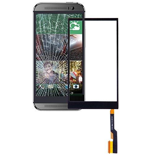 Pantalla de Vidrio Exterior de la Lente Replac Pieza del Panel táctil for HTC One M8