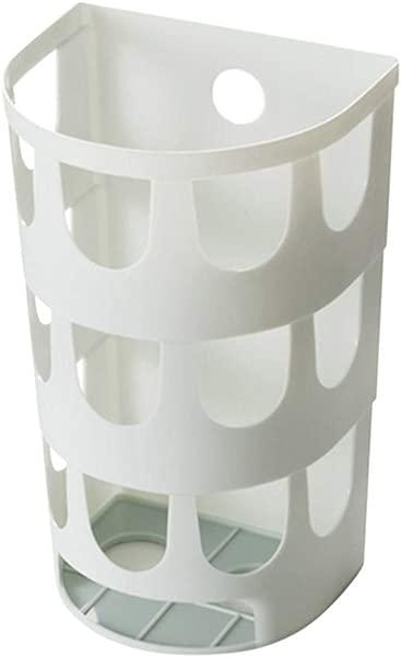 Onegirl Grocery Bag Storage Holder Plastic Bag Dispenser Storage Box Garbage Bags Collection Holder Bathroom Storage Rack Suitable For Kitchen Living Room Bedroom Light Blue