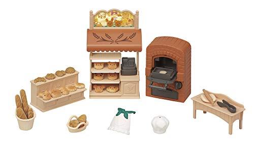 シルバニアファミリー お店 こんがりオーブン! はじめてのパン屋さんセット ミ-88