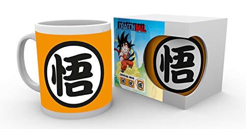 GB Eye Goku Kanji Dragon Ball Tasse, Multicolore